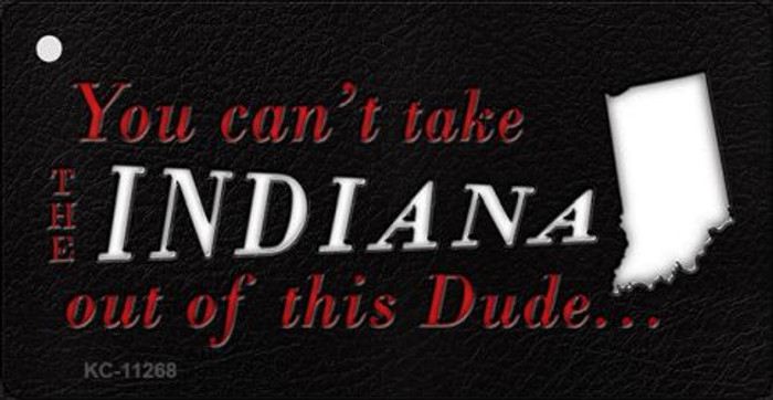 Indiana Dude Novelty Metal Key Chain KC-11268