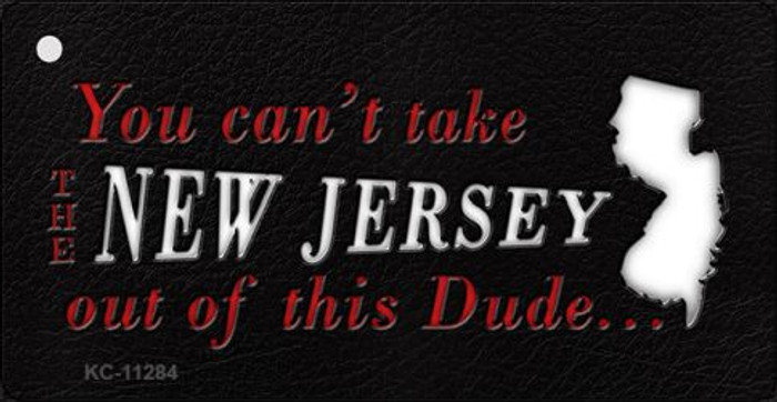 New Jersey Dude Novelty Metal Key Chain KC-11284