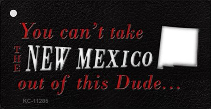 New Mexico Dude Novelty Metal Key Chain KC-11285