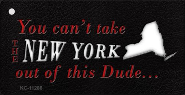 New York Dude Novelty Metal Key Chain KC-11286