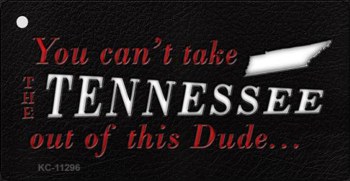 Tennessee Dude Novelty Metal Key Chain KC-11296