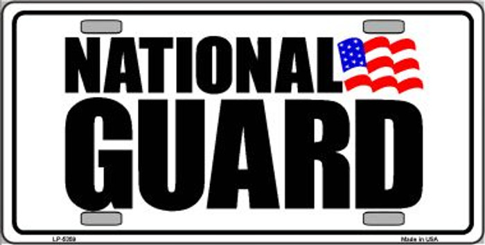 National Guard Novelty Metal License Plate LP-5359