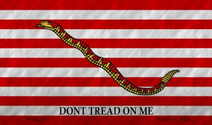 Dont Tread On Me Culpeper Novelty Metal Magnet M-8226