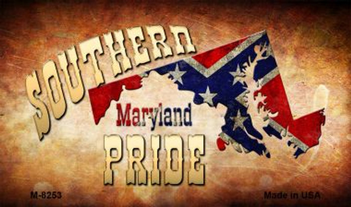 Southern Pride Maryland Novelty Metal Magnet M-8253