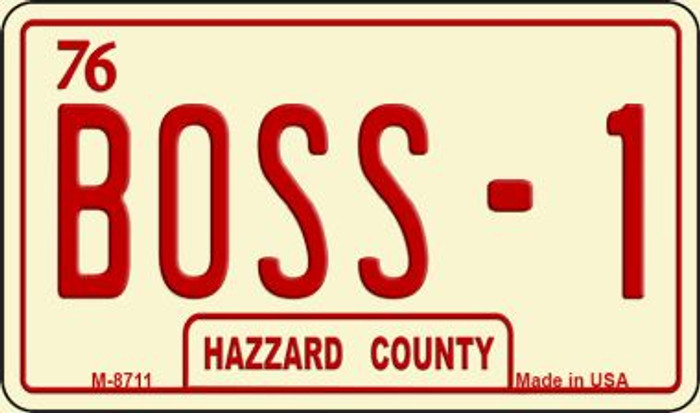 Boss-1 Novelty Metal Magnet M-8711