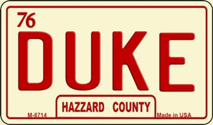 Duke Novelty Metal Magnet M-8714