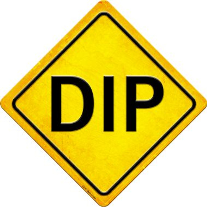 Dip Novelty Metal Crossing Sign CX-577