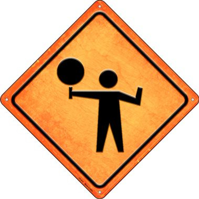 Stop Ahead Novelty Metal Crossing Sign CX-615