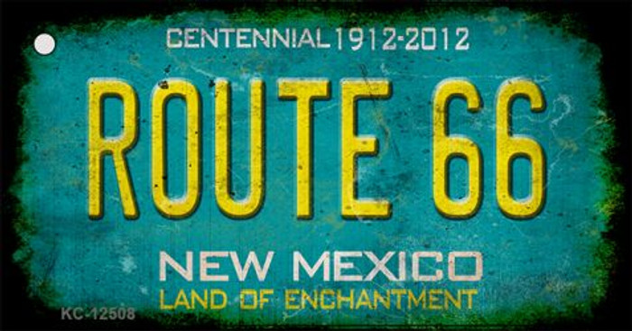 Route 66 New Mexico Novelty Metal Key Chain KC-12508