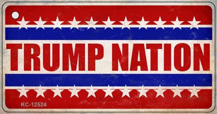 Trump Nation Novelty Metal Key Chain KC-12524
