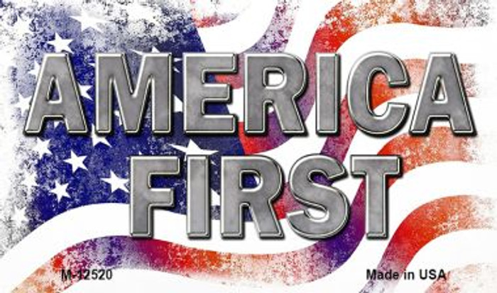 America First Novelty Metal Magnet M-12520