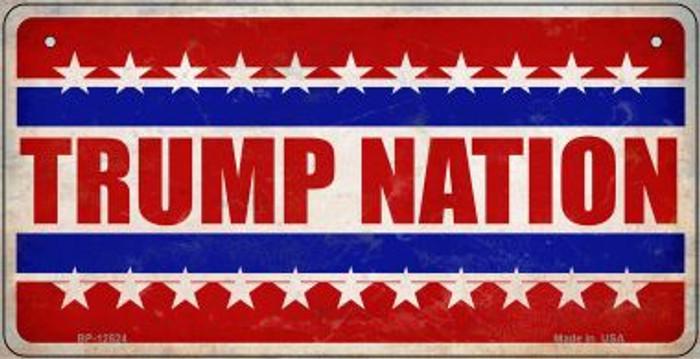 Trump Nation Novelty Metal Bicycle Plate BP-12524