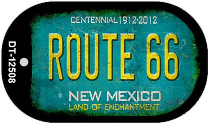 Route 66 New Mexico Novelty Metal Dog Tag Necklace DT-12508