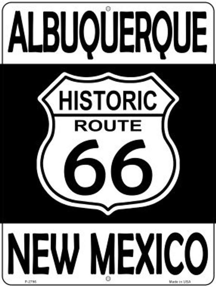 Albuquerque New Mexico Historic Route 66 Novelty Metal Parking Sign P-2796
