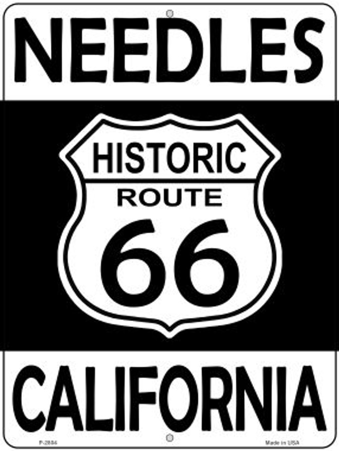 Needles California Historic Route 66 Novelty Metal Parking Sign P-2804