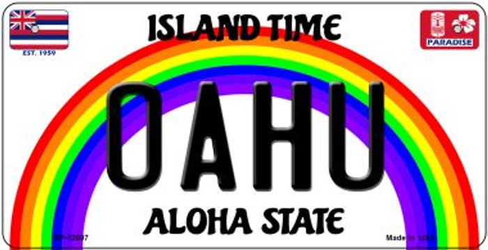 Oahu Novelty Metal Bicycle Plate BP-12607