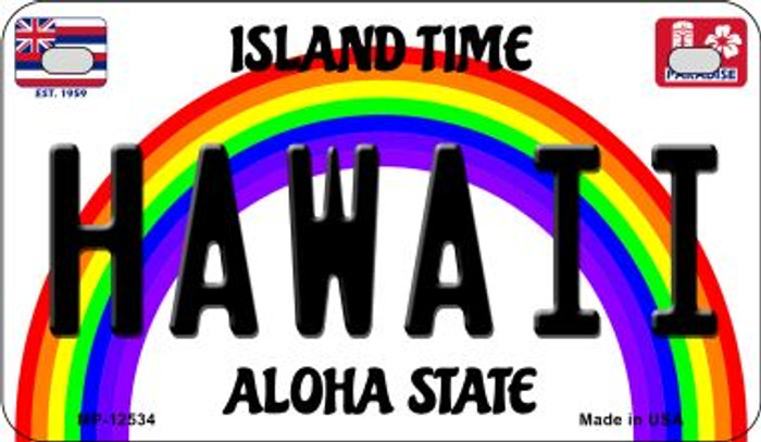 Hawaii Novelty Metal Motorcycle Plate MP-12534