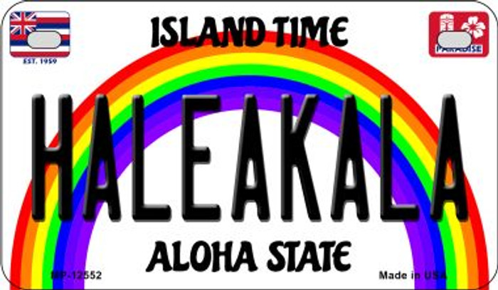 Haleakala Novelty Metal Motorcycle Plate MP-12552