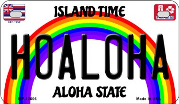 Hoaloha Novelty Metal Motorcycle Plate MP-12606