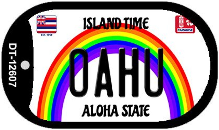 Oahu Novelty Metal Dog Tag Necklace DT-12607