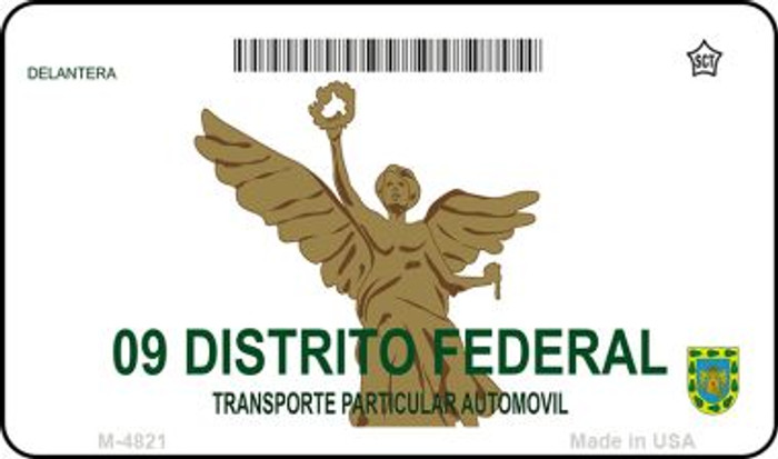 Distrito Federal Mexico Blank Background Novelty Metal Magnet M-4821