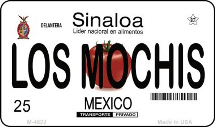 Los Mochis Mexico Novelty Metal Magnet M-4822