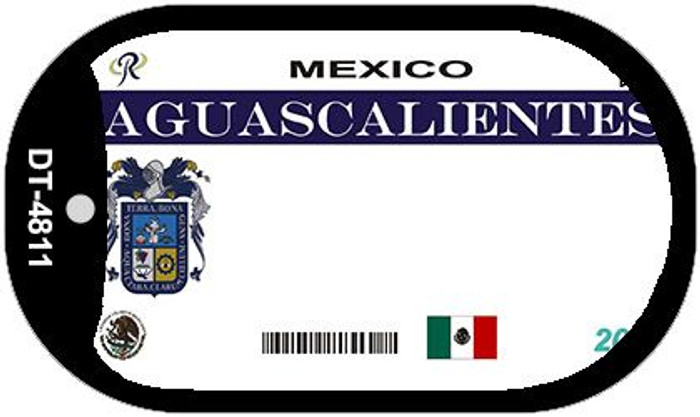 Aguascalientes Mexico Blank Background Novelty Metal Dog Tag Necklace DT-4811