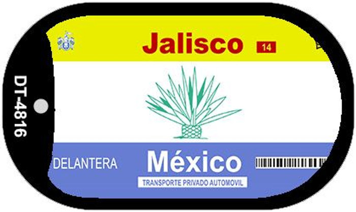 Jalisco Mexico Blank Background Novelty Metal Dog Tag Necklace DT-4816