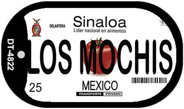 Los Mochis Mexico Novelty Metal Dog Tag Necklace DT-4822