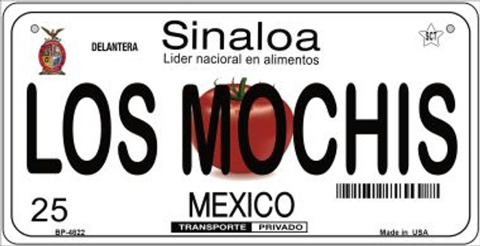 Los Mochis Mexico Novelty Metal Bicycle Plate BP-4822