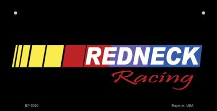 Redneck Racing Novelty Metal Bicycle Plate BP-2000