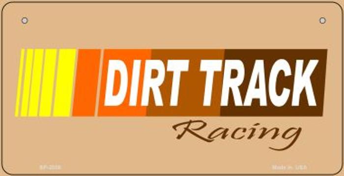 Dirt Track Racing Novelty Metal Bicycle Plate BP-2006