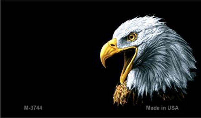 Eagle Offset Novelty Metal Magnet M-3744