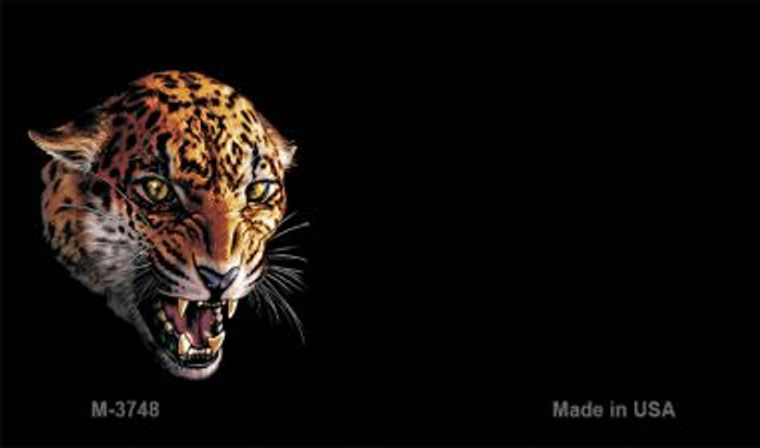 Jaguar Offset Novelty Metal Magnet M-3748