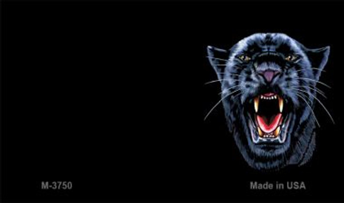 Panther Offset Novelty Metal Magnet M-3750