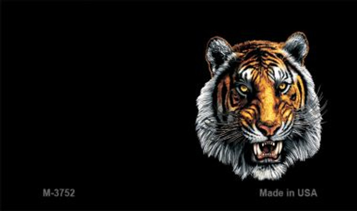 Tiger Offset Novelty Metal Magnet M-3752