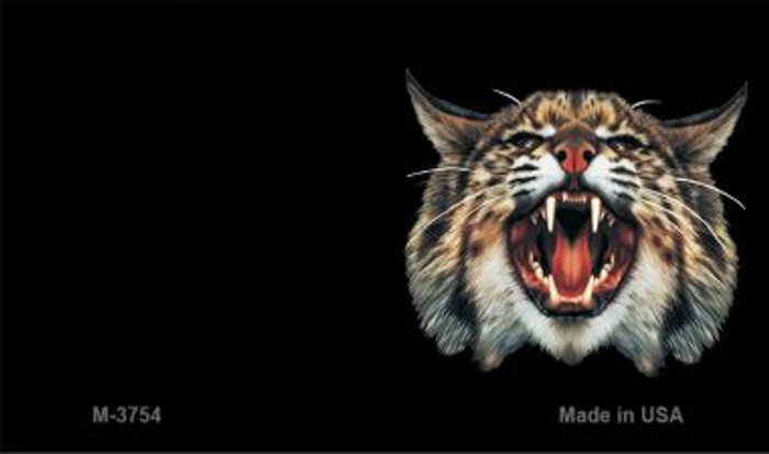 Wildcat Offset Novelty Metal Magnet M-3754