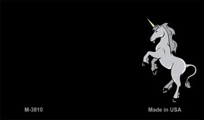 Unicorn Offset Novelty Metal Magnet M-3810