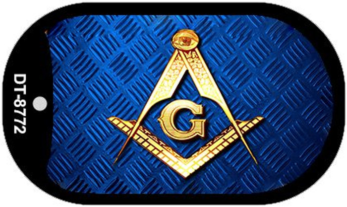 Freemasonry Novelty Metal Magnet M-8772