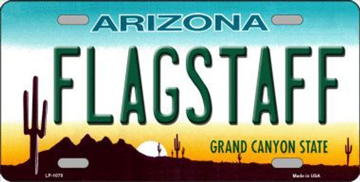 Flagstaff Arizona Novelty Metal License Plate