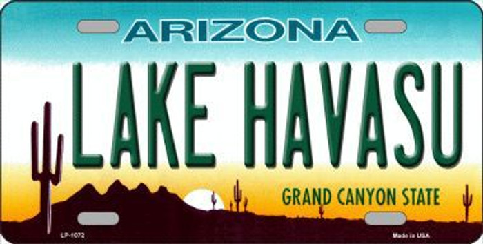 Lake Havasu Arizona Novelty Metal License Plate