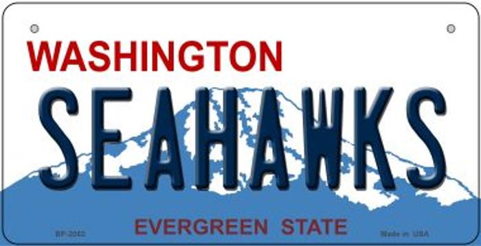Seahawks Washington Novelty Metal Bicycle Plate BP-2063