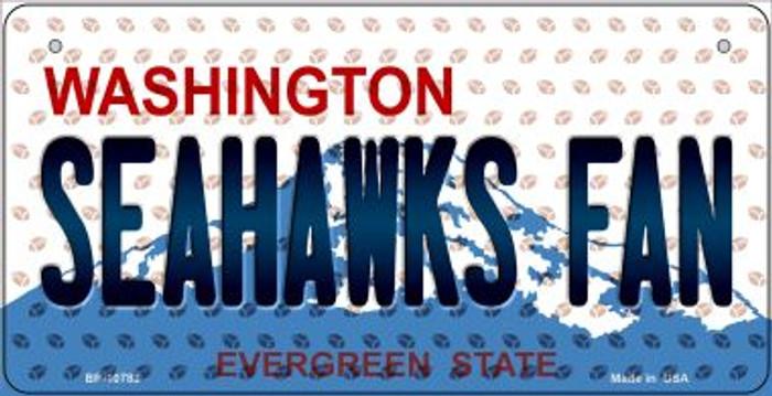 Seahawks Fan Washington Novelty Metal Bicycle Plate BP-10783