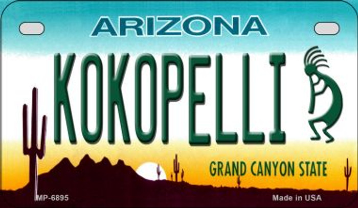 Arizona Kokopelli Novelty Metal Motorcycle Plate MP-6895