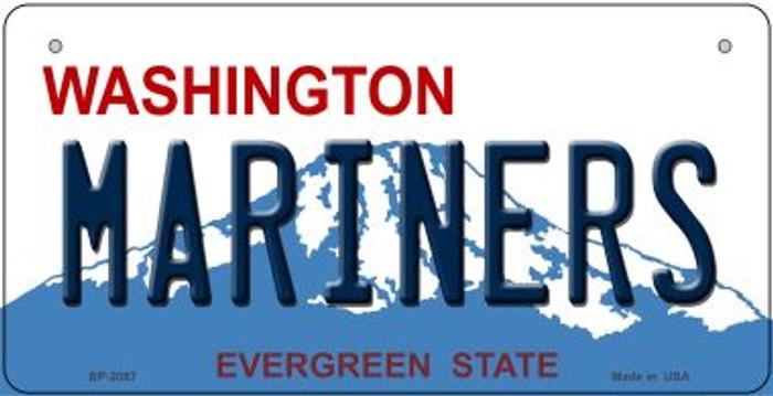 Mariners Washington Novelty Metal Bicycle Plate BP-2087