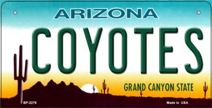 Coyotes Arizona Novelty Metal Bicycle Plate BP-2279