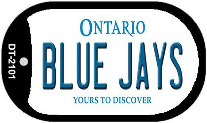 Blue Jays Ontario Novelty Metal Dog Tag Necklace DT-2101