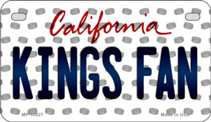 Kings Fan California Novelty Metal Motorcycle Plate MP-10827