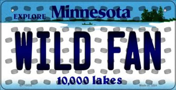 Wild Fan Minnesota Novelty Metal Bicycle Plate BP-10835