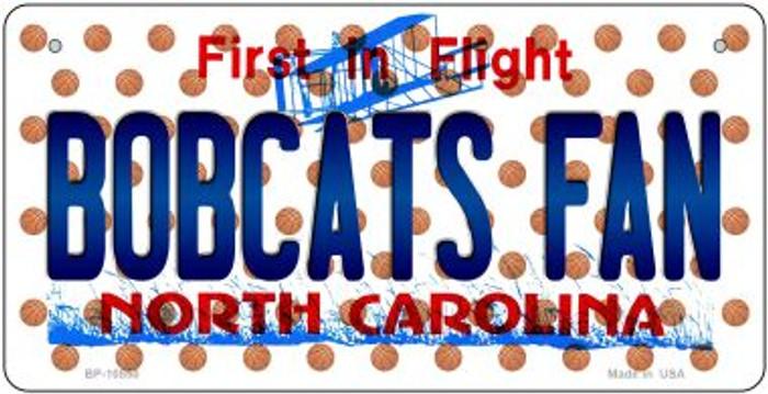 Bobcats Fan North Carolina Novelty Metal Bicycle Plate BP-10850
